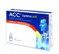 ACC optima HOT 10 saszetek
