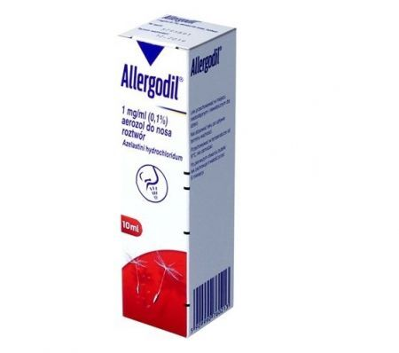 Allergodil 1 mg/ml aerozol do nosa 10 ml