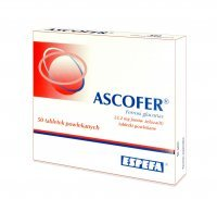 Ascofer 200 mg 50 tabletek