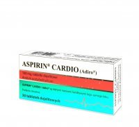 Aspirin Cardio 100 mg Forfarm 30 tabletek