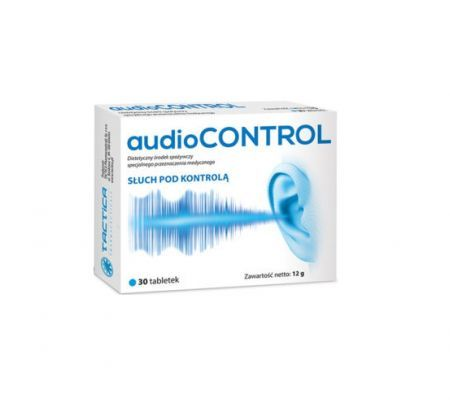 Audiocontrol 30 tabletek data waż. 31/08/2020