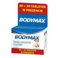 Bodymax Plus 60 + 20 tabletek