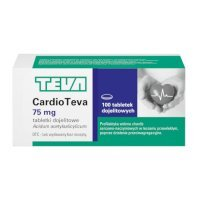 Cardioteva 75 mg 100 tabletek data waż 30/09/2021