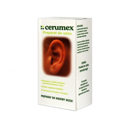 Cerumex preparat do higieny uszu 15 ml