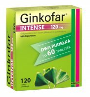 Ginkofar Intense 120 mg 120 tabletek