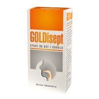 GOLDisept spray do ust i gardła 25 ml
