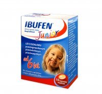 Ibufen Junior 200 mg 10 kapsułek