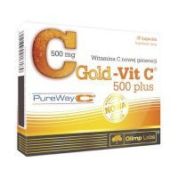 OLIMP Gold-Vit.C 500 Plus kaps. 30kaps.(bl