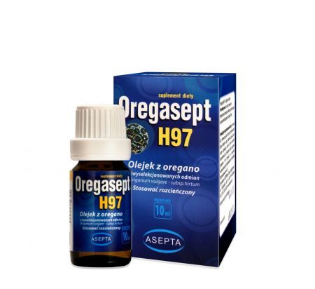 Oregasept H97 Olejek z oregano 10 ml