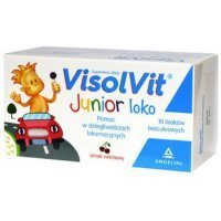 Visolvit Junior loko 10 szt.