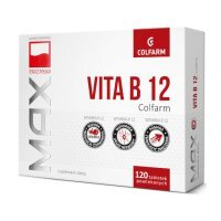 Vitaminum B 12 Colfarm 120 tabletek